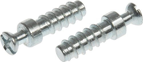 The Hillman Group 59843 Connector Bolt- Zinc 6mm, 10-Pack