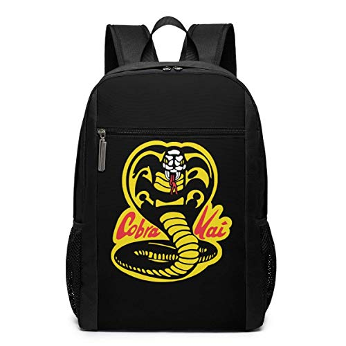 Mochila de Viaje de Mochila Escolar, Cobra Kai Backpacks Travel School Large Bags Shoulder Laptop Bag For Men Women Kids