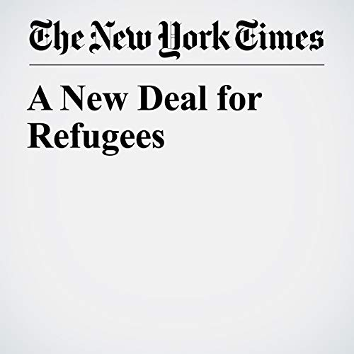 A New Deal for Refugees audiobook cover art