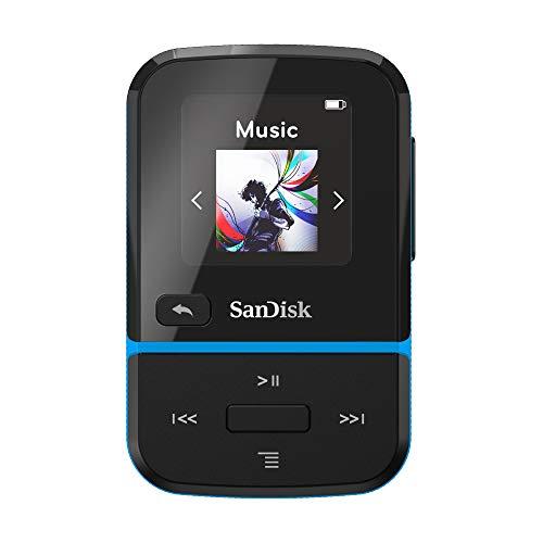 SanDisk Clip Sport Go 16GB MP3 Player - Blu