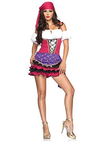 Leg Avenue- Mujer, Color rosa, S/M (EUR 36-38) (8367105208)
