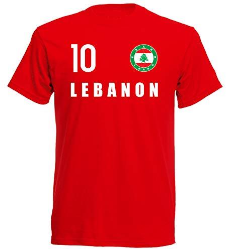 nationshirt Camiseta para niños del Líbano Look Logo FH 10 R