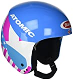 Atomic Redster Replica Casco de esquí de competición, Unisex, L (58-59 cm), Azul (Mikaela), AN5005380L