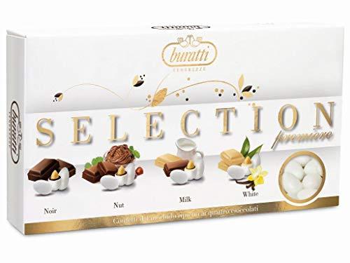 Buratti Confetti Tenerezze Selección De Almendras Recubiertas De Chocolate 1000 g