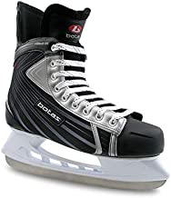 Botas - Attack 181 - Men's Ice Hockey Skates | Made in Europe (Czech Republic) | Color: Black with Silver, Adult 11