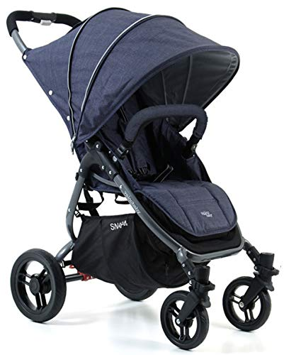 Valco Baby Snap4 Single Stroller Snap (Tailormade Denim)