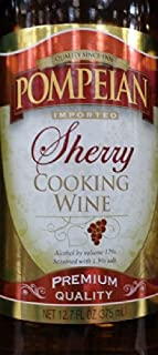 Pompeian Cooking Wine 12.7 Oz (Pack of 3) (Sherry)