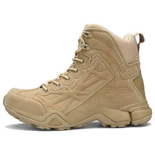 Lixiyu tactische laarzen voor mannen, dubbele velours wandellaarzen, outdoor, tactische laarzen, jungle, vechtlaarzen, camping, motor, elite, forces, ultralicht, modieus, uniseks