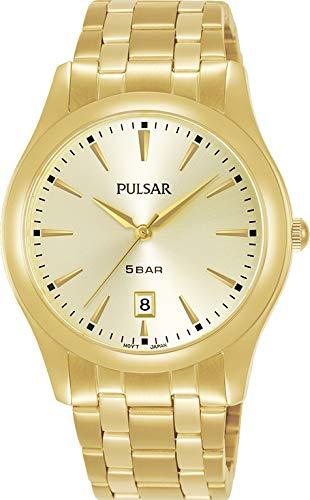Pulsar Reloj Analógico para Hombre de Cuarzo con Correa en Metal PG8316X1