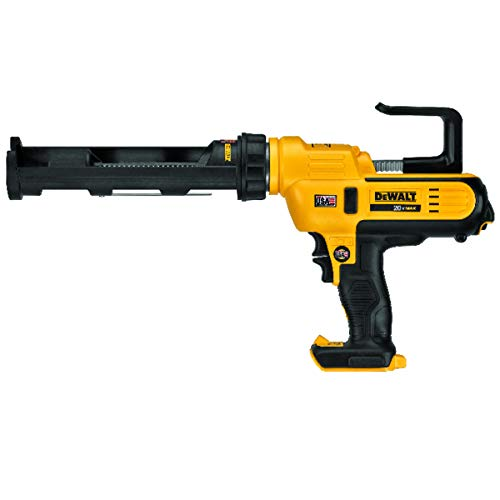 DEWALT 20V MAX Cordless Caulking Gun, 10oz/300ml, Tool Only (DCE560B)