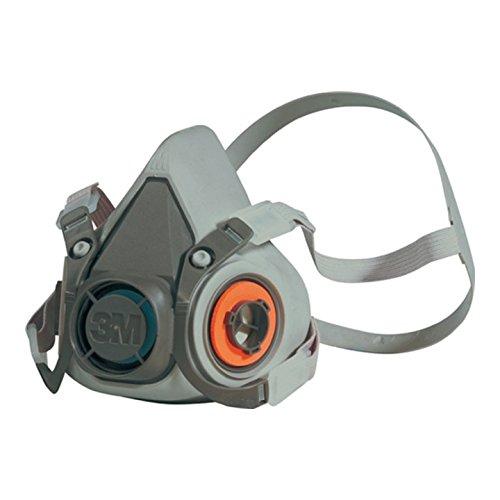 Atemschutzhalbmaske 6200 Serie 6000 o.Filter 4Pkt-Bebänderung 3M m.Kopfbügel