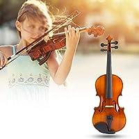 高品質の楽器アクセサリー家庭用の便利な木材3/4バイオリン