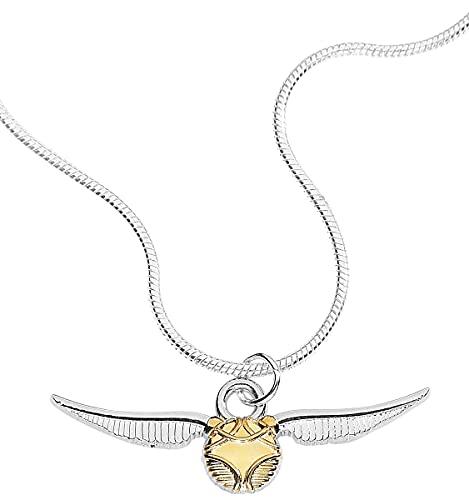 Carat - Hpotter Collar con Colgante Snicht Dorado