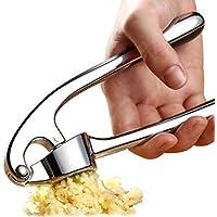 Handheld Zinc Alloy Rust-proof Garlic Crusher