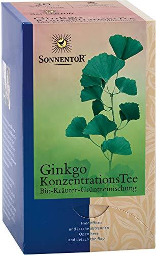 Sonnentor Bio Ginkgo Konzentrationstee bio (6 x 20 Btl)