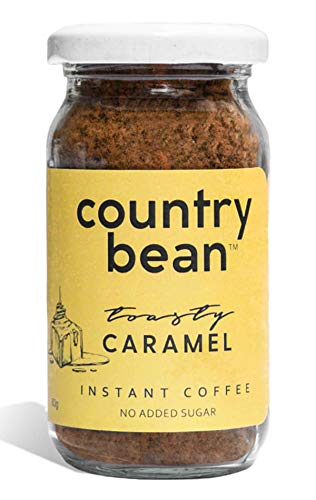 Country Bean Instant Coffee Powder | Caramel Flavoured Coffee 60 G