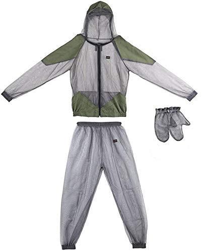Lixada Ultra-fine Mesh Summer Wear Fine Net Cover Outdoor Breathable Jacket Suit