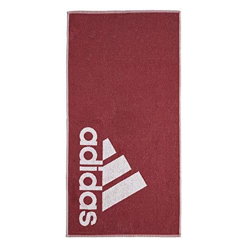 adidas Handtuch Towel (one Size, Dark red)