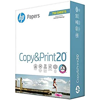 HP Everyday Copy and Print Poly Wrap, 20lb, 8.5 x 11, 92 Bright, 750 Sheets/1 Ream (200030R)