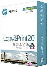 HP Printer Paper 8.5x11 Copy&Print 20 lb 1 Bulk Pack 750 Sheets 92 Bright Made in USA FSC Certified Copy Paper HP Compatib...