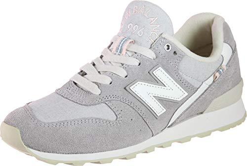 New Balance Damen Suede 996 Sneaker, Grau (Grey Yc), 36.5 EU