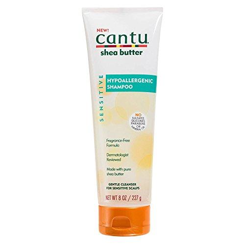 Cantu Shea Butter Shampoo Hypoallergenic 8 Ounce (236ml) 8 Oz Shea Butter Shampoo