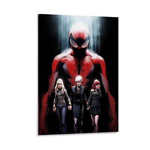 DRAGON VINES Ultimate Spider Man Poster Impresión Arte de pared Arte de pared Arte abstracto colorido 20 x 30 cm