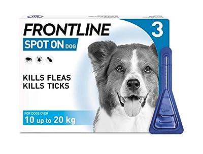 Frontline Spot On Flea and Tick Treatment for Medium Dog (10-20kg)