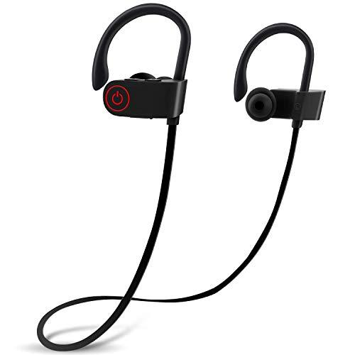 dizaul - Cuffie Bluetooth Impermeabili, Auricolari Wireless Sportivi con Microfono