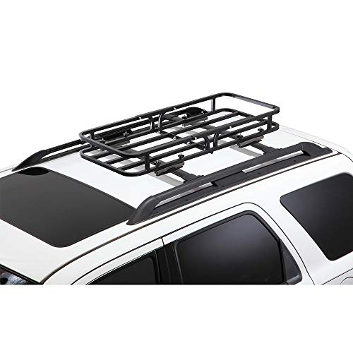 CargoLoc 2-in-1 Hitch Mount and Roof Top Cargo Carrier, 48 x 19.5