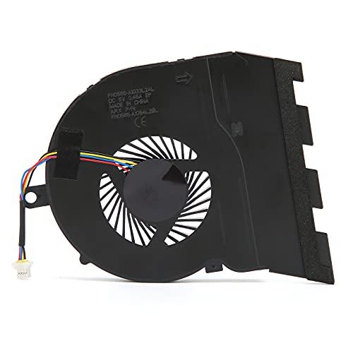 Ventiladores de PC, ventilador de computadora con disipación de calor fuerte, radiador de computadora compatible y duradero, enfriador de CPU para computadora portátil Inspiron 15‑5565 / 15‑5567 / p66