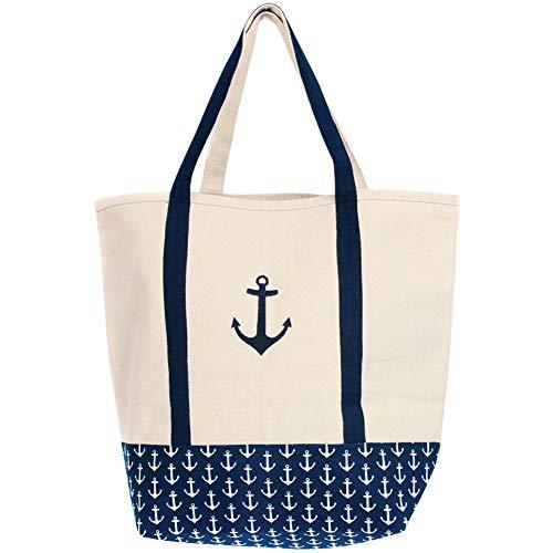 DEI Boat Tote Bag, 16' x 19', Multicolored