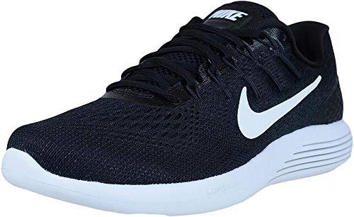 Nike Herren Lunarglide 8 Laufschuhe, Schwarz (Schwarz/Anthrazit/Weiß), 41 EU