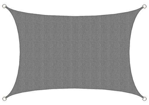 AMANKA Toldo UV - 3x2 HDPE Vela de Protección Solar Rectang