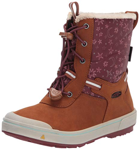 Merrell Snow Bank 2.0 Waterproof Boot, Gunsmoke/Camo, 13 US Unisex Big Kid