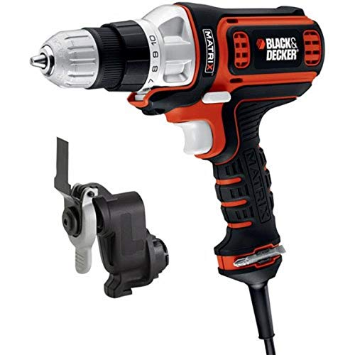 Black & Decker BDEDMTO Matrix Corded AC Drill and Oscillating Multi-Tool