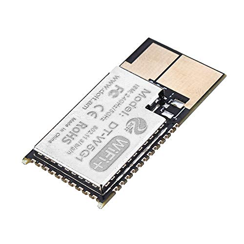 NARJOG 3 Stück Sonde Firmware DT-W5G1 5G WiFi-Modul 2,4 g/5 g Dualband-Modul mit Antennenschnittstelle für kabellose Bildübertragung