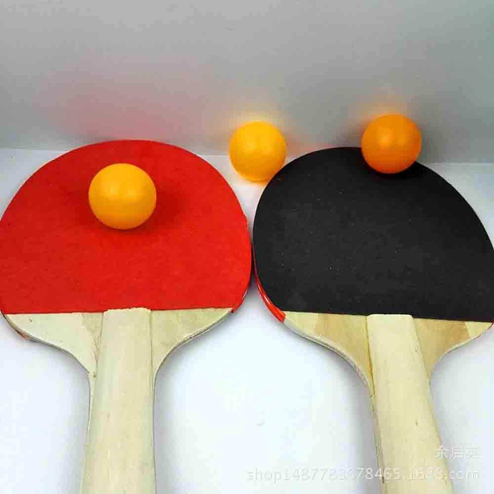 Deyan Tenis de Mesa Juego de 2 Jugadores 2 Raquetas de Palos de Tenis de Mesa con 3 Pelotas de Ping Pong para niños Adultos Juego al Aire Libre en Interiores: Amazon.es: