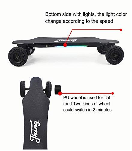 Elektro Skateboard FATSW  Elektrisches Longboard Bild 3*
