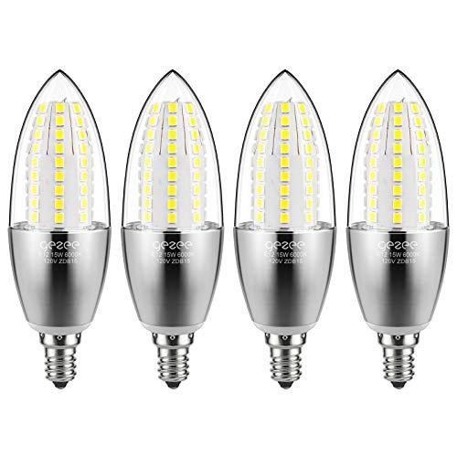 GEZEE LED Candelabra Bulb, Non-Dimmable 120Watt Light...