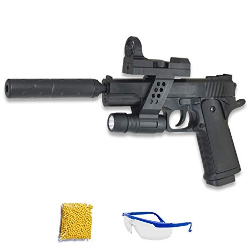 GALAXY G.053A Pistola de Airsoft Calibre 6mm (Arma Aire Suave de Bolas de plástico o PVC). Sistema: Muelle. - Potencia: 0.50 Julios