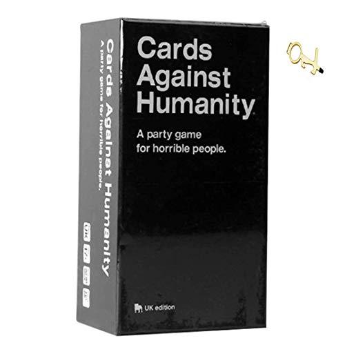 Cards Against Humanity - A Party Game for Horrible People - novità Giochi da Tavolo per Amici di Famiglia The Perfect Party Choice (17 Anni) Adolescente