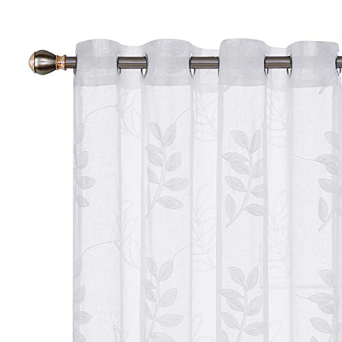 cortinas habitacion blancas lino