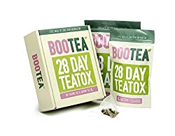 🍵 SAFE, FAST, EXTRA BENEFITS: Bootea detox tea extract is an award winning tea tox designed to help boost your energy levels and manage weight. It's your ultimate supplement for men and women who are looking for a safe and effective weight management...