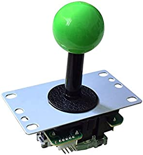 Toys&Hobbies Game Machine Rocker Handle Boxing King Street Fighter Accessories(Black) (Color : Green)