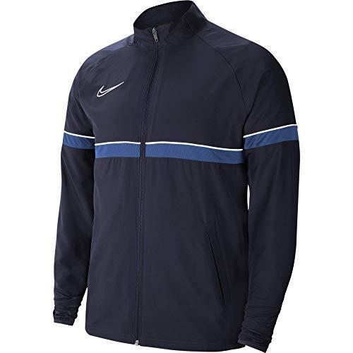 Nike Dri-Fit Academy, Giacca Sportiva Uomo, Ossidiana/Bianco/Royal Blu/Bianco, L