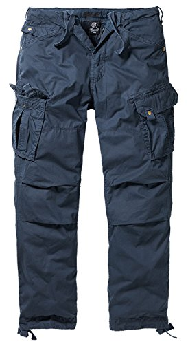 BRANDIT Columbia Mountain Vintage Cargohose Hose, Gr. M, blau