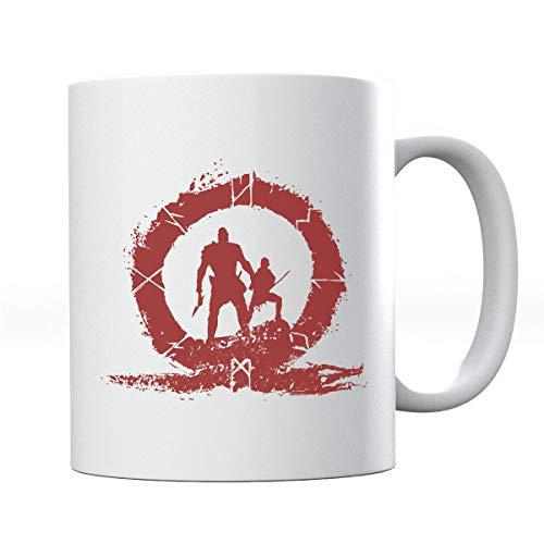 Taza de silueta de God Of War Hero Blood