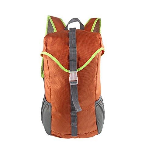 Aycc Sporttas, grote capaciteit, multifunctionele waterdichte praktische bergsporttas oranje