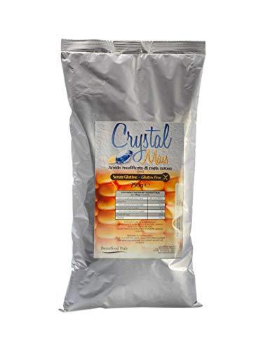Crystal Mais - Amido di Mais Modificato Senza Glutine, Formato da 750g